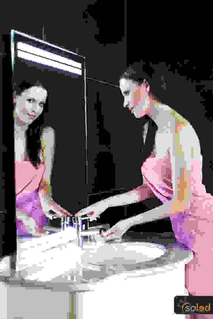 Lustra LED Pattern Light marki Soleda Mirror - na wymiar od SOLED Projekty i Dekoracje Świetlne Jacek Solka Nowoczesny