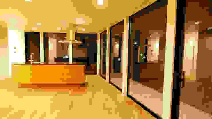 by 宮城雅子建築設計事務所 miyagi masako architect design office , kodomocafe Minimalist
