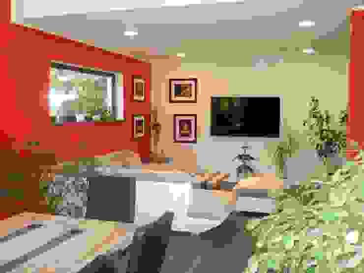 Villa Linda EBH Haus Moderne Wohnzimmer