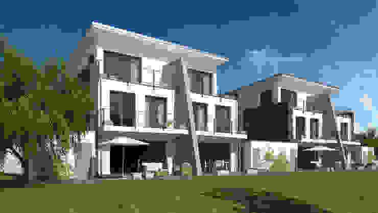 Wohnen am Park Minimalistische Häuser von Gritzmann Architekten Minimalistisch