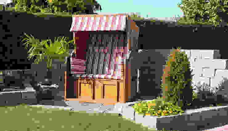 Projekty,  Ogród zaprojektowane przez Rimini Baustoffe GmbH, Śródziemnomorski