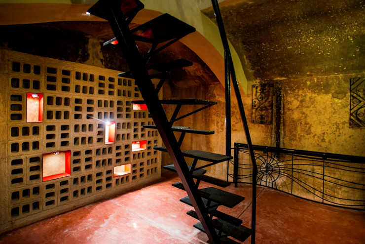 Taller Estilo Arquitectura Wine cellar Red