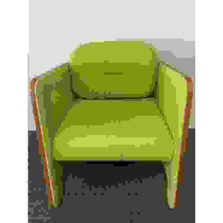 SOCA - Thierry d'Istria - Fauteuil FRIZZ vert (tissu Lelièvre) Collector Chic SalonChaises & poufs Vert