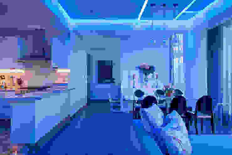 Dining room by HO arquitectura de interiores,