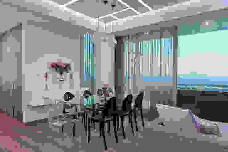 DEPARTAMENTO EN CUERNAVACA Comedores modernos de HO arquitectura de interiores Moderno