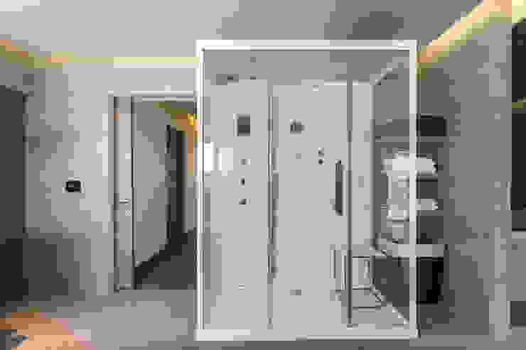 DEPARTAMENTO EN BOSQUE REAL Spa modernos de HO arquitectura de interiores Moderno