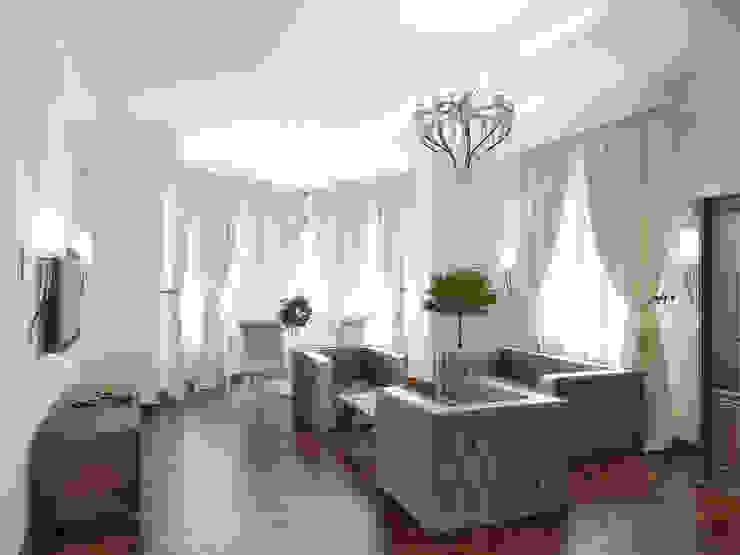 Коттедж в Троицке Гостиная в классическом стиле от Симуков Святослав частный дизайнер интерьера Классический
