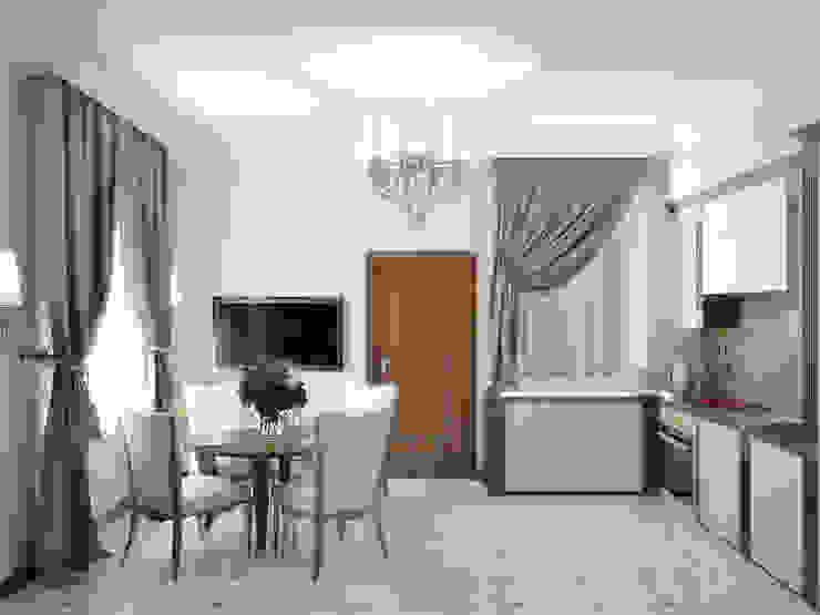 Коттедж в Троицке Кухня в классическом стиле от Симуков Святослав частный дизайнер интерьера Классический