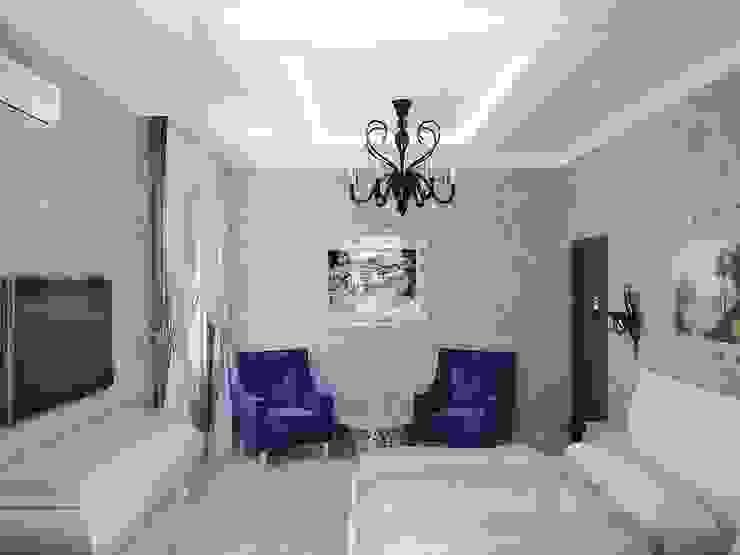 Коттедж в Троицке Спальня в классическом стиле от Симуков Святослав частный дизайнер интерьера Классический