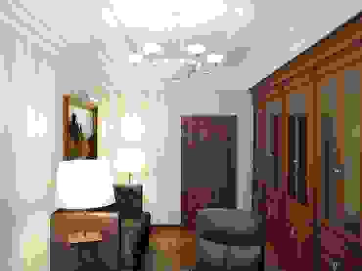 Коттедж в Троицке Рабочий кабинет в классическом стиле от Симуков Святослав частный дизайнер интерьера Классический