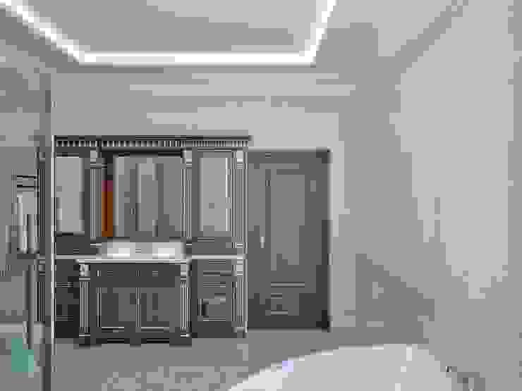 Коттедж в Троицке Ванная в классическом стиле от Симуков Святослав частный дизайнер интерьера Классический