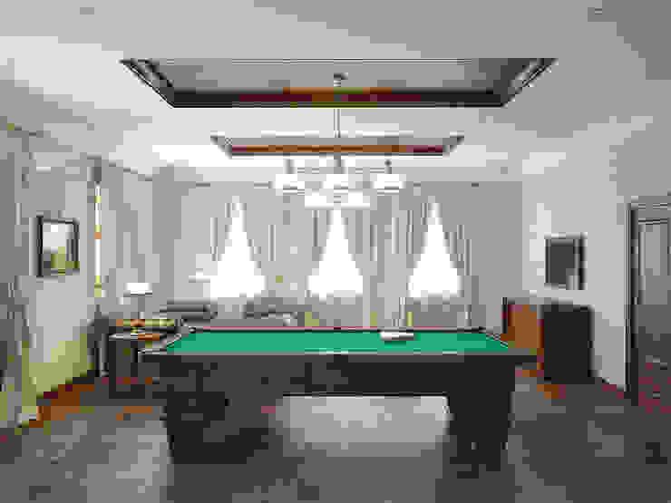 Classic style media room by Симуков Святослав частный дизайнер интерьера Classic