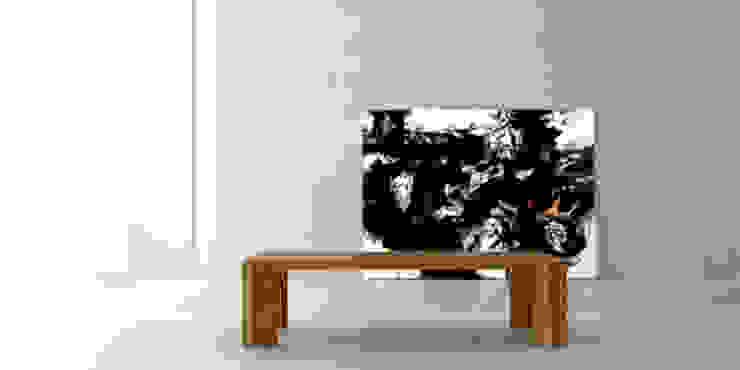 Mesa ratona solid de Forma muebles Moderno Madera maciza Multicolor