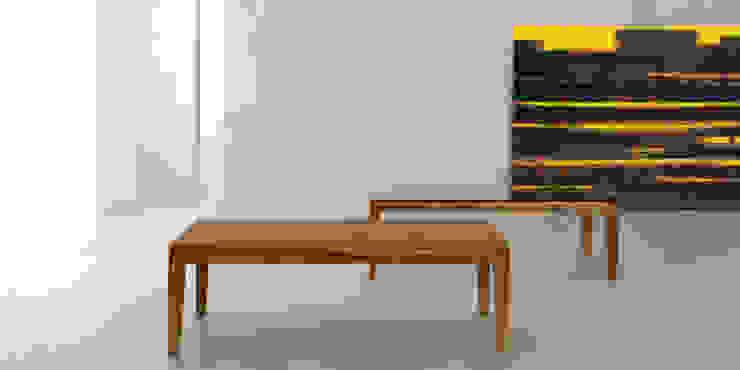 Mesa ratona classic de Forma muebles Moderno Madera maciza Multicolor