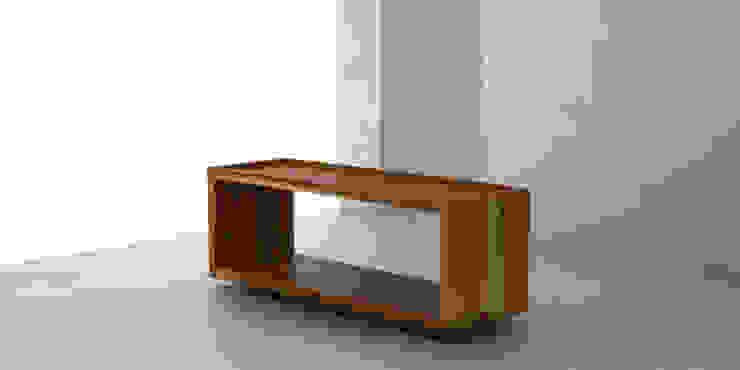 Mesa ratona O de Forma muebles Moderno Madera maciza Multicolor
