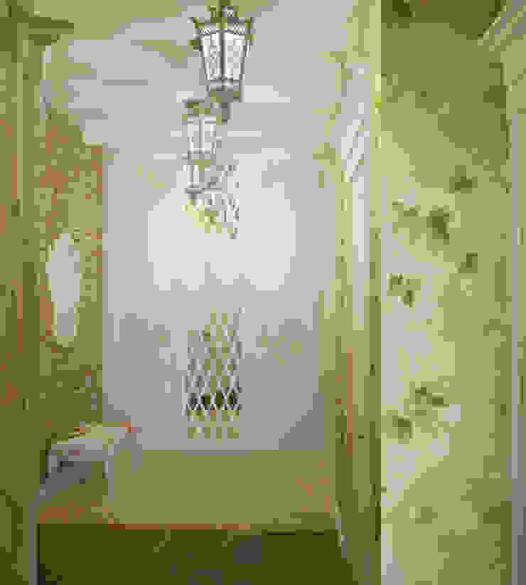 Квартира в городе Королев Коридор, прихожая и лестница в стиле кантри от Симуков Святослав частный дизайнер интерьера Кантри