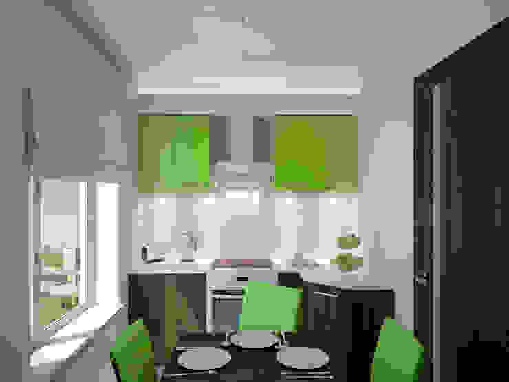 Cocinas de estilo minimalista de Симуков Святослав частный дизайнер интерьера Minimalista