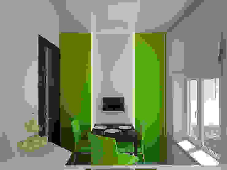 Квартира в Перово Кухня в стиле минимализм от Симуков Святослав частный дизайнер интерьера Минимализм