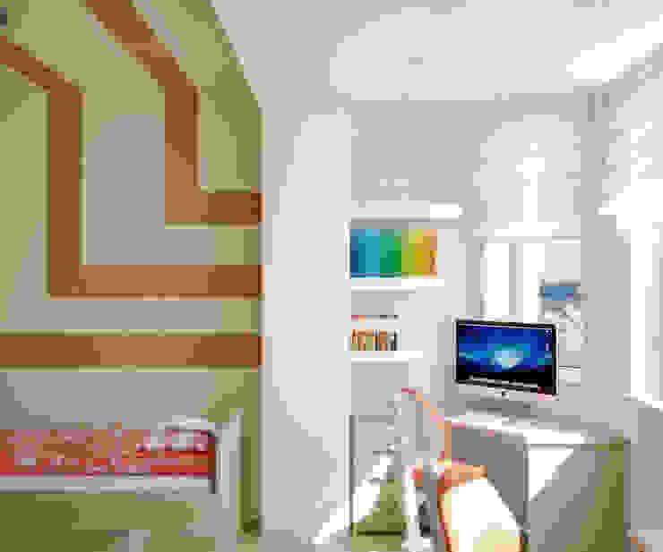 Квартира на Таганке Детская комната в азиатском стиле от Симуков Святослав частный дизайнер интерьера Азиатский