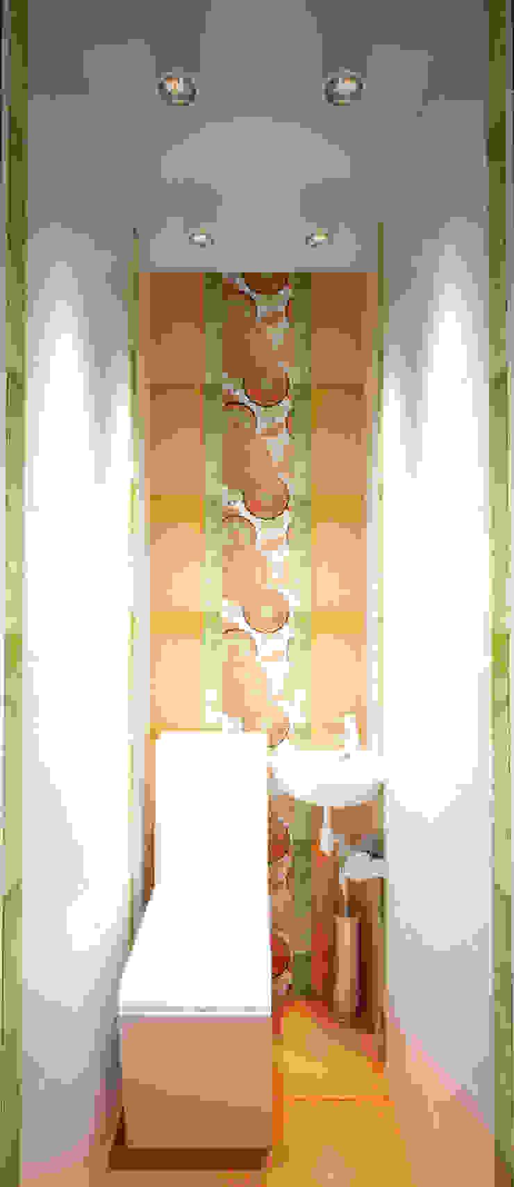 Квартира на Таганке Ванная в азиатском стиле от Симуков Святослав частный дизайнер интерьера Азиатский