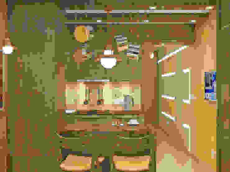 Симуков Святослав частный дизайнер интерьера Cucina in stile mediterraneo Giallo
