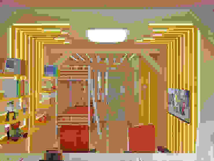 Симуков Святослав частный дизайнер интерьера Stanza dei bambini in stile mediterraneo Beige
