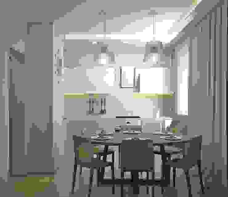 Квартира на Филевском бульваре Кухня в стиле минимализм от Симуков Святослав частный дизайнер интерьера Минимализм