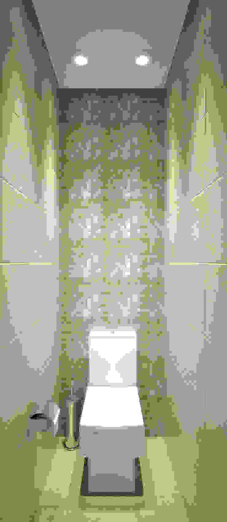 Квартира на Филевском бульваре Ванная комната в стиле минимализм от Симуков Святослав частный дизайнер интерьера Минимализм