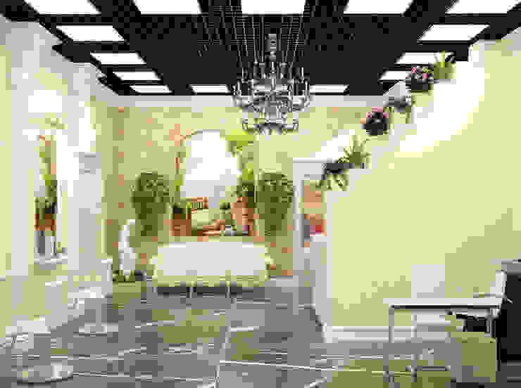 Симуков Святослав частный дизайнер интерьера의  서재 & 사무실, 클래식
