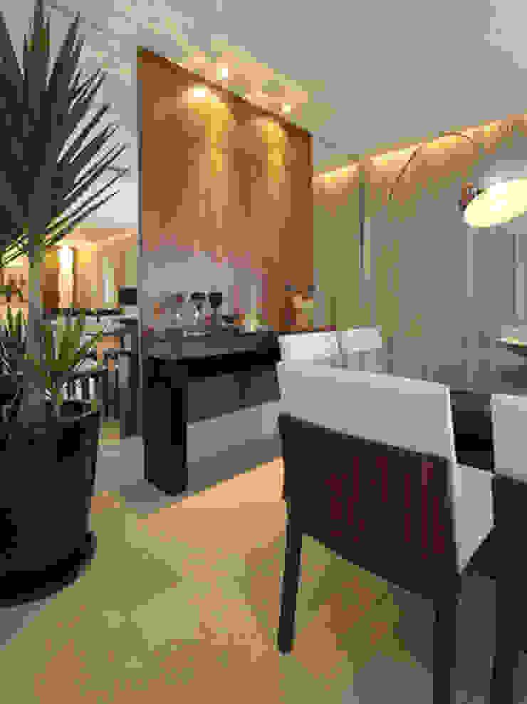 Apartamento residencial – Ed. Lumina Parque Clube Salas de jantar clássicas por Carolina Ouro Arquitetura Clássico
