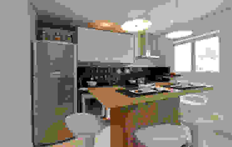 Cozinha Cozinhas clássicas por Carolina Ouro Arquitetura Clássico