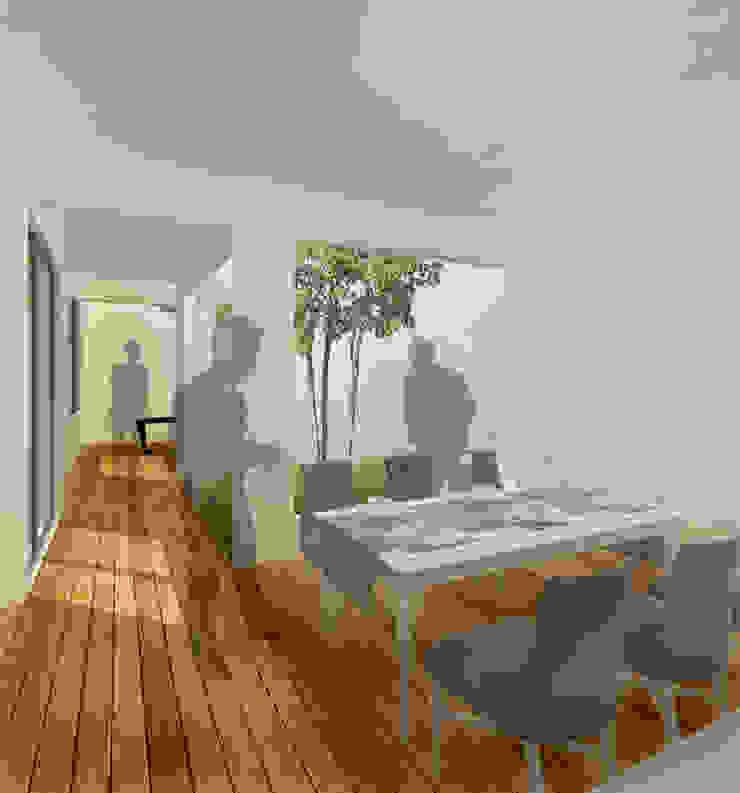 Sala da pranzo minimalista di ODRACIR Minimalista