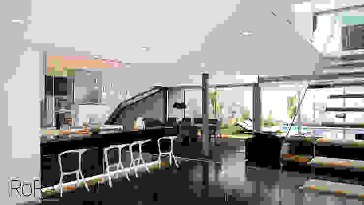 Desarrollo de Interiorísmo Cocinas modernas de LA RORA Interiorismo & Arquitectura Moderno