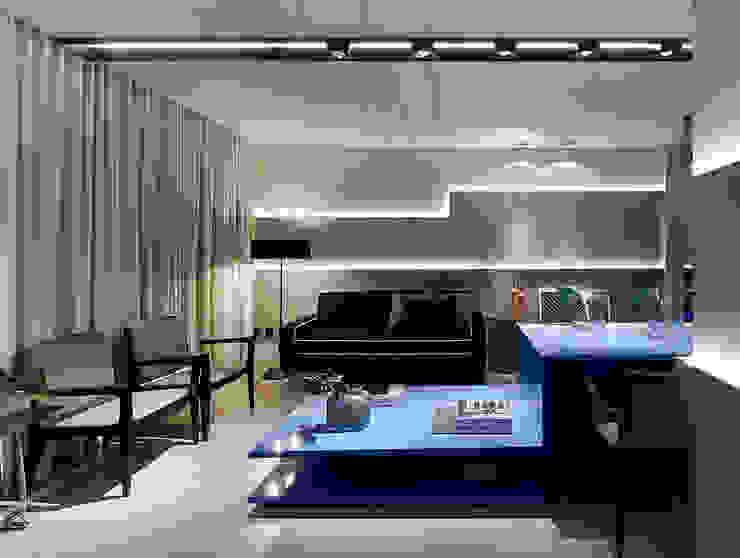 Moderne Wohnzimmer von Matheus Menezes Arquiteto Modern