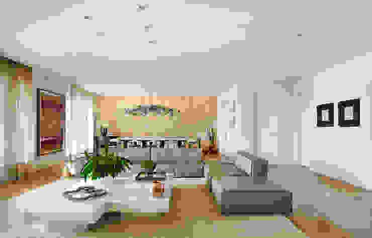 Livings modernos: Ideas, imágenes y decoración de Thaisa Camargo Arquitetura e Interiores Moderno