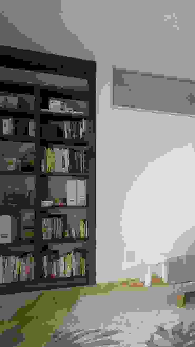 大岡山の家 北欧デザインの リビング の (有)伊藤道代建築設計事務所 北欧