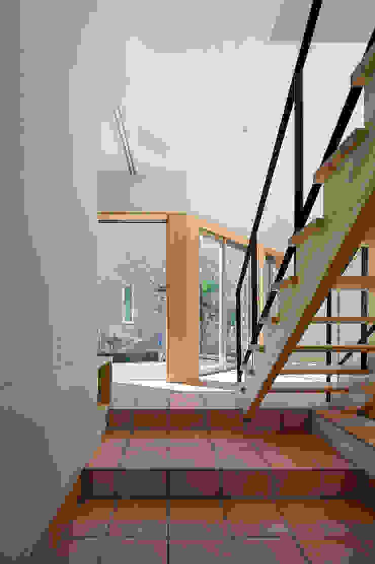 大岡山の家 北欧デザインの 多目的室 の (有)伊藤道代建築設計事務所 北欧 タイル