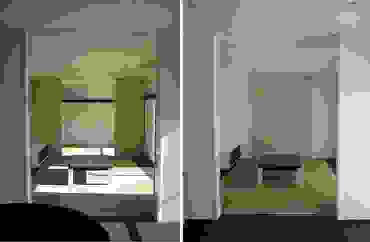 リビングより和室・母の部屋を見る の 青戸信雄建築研究所