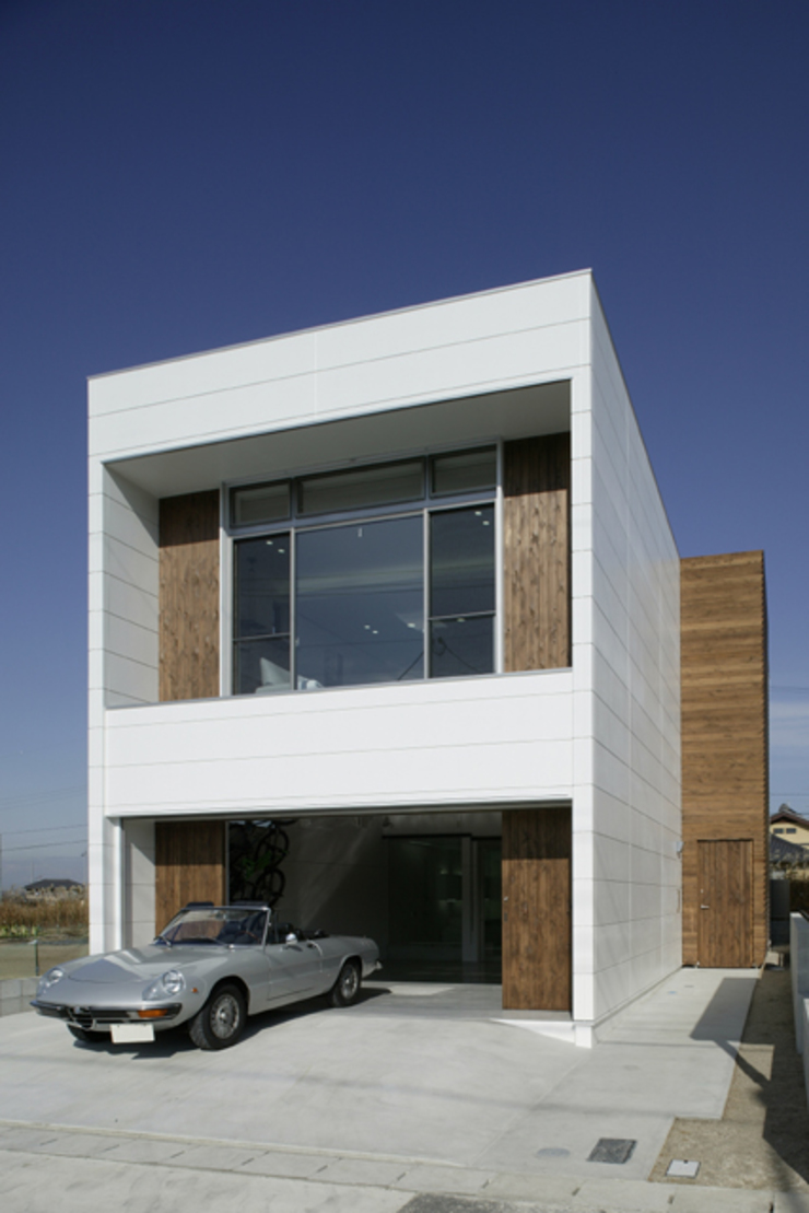 Moderne Häuser von ツジデザイン一級建築士事務所 Modern