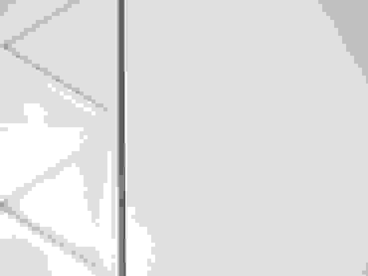 Bureau minimaliste par na3 - studio di architettura Minimaliste Fer / Acier