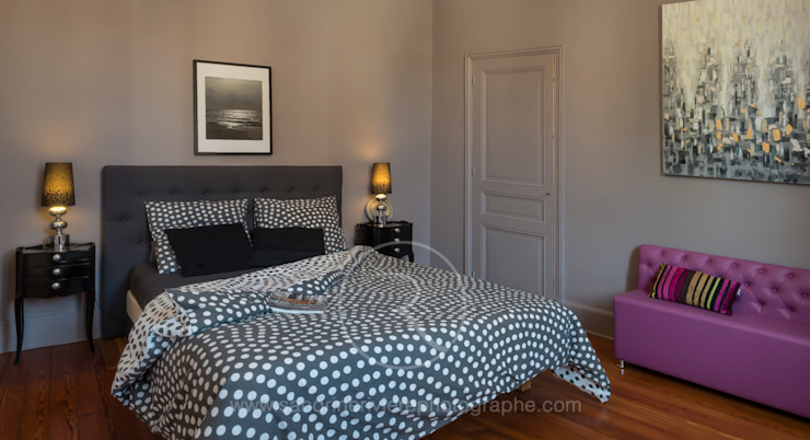 Bedroom by Sandrine RIVIERE Photographie