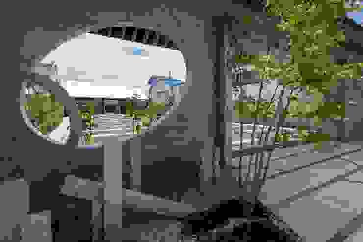 島田の診療所 モダンな庭 の 株式会社 ナウハウス モダン 石