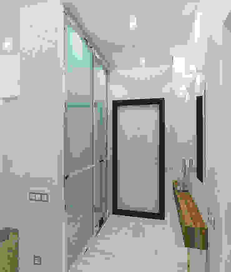 Квартира в элитном жилом комплексе <q>Парус</q> Коридор, прихожая и лестница в стиле минимализм от Design Rules Минимализм