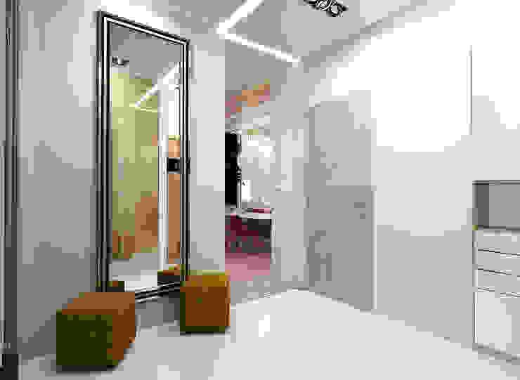 ООО 'Студио-ТА' Eclectic corridor, hallway & stairs