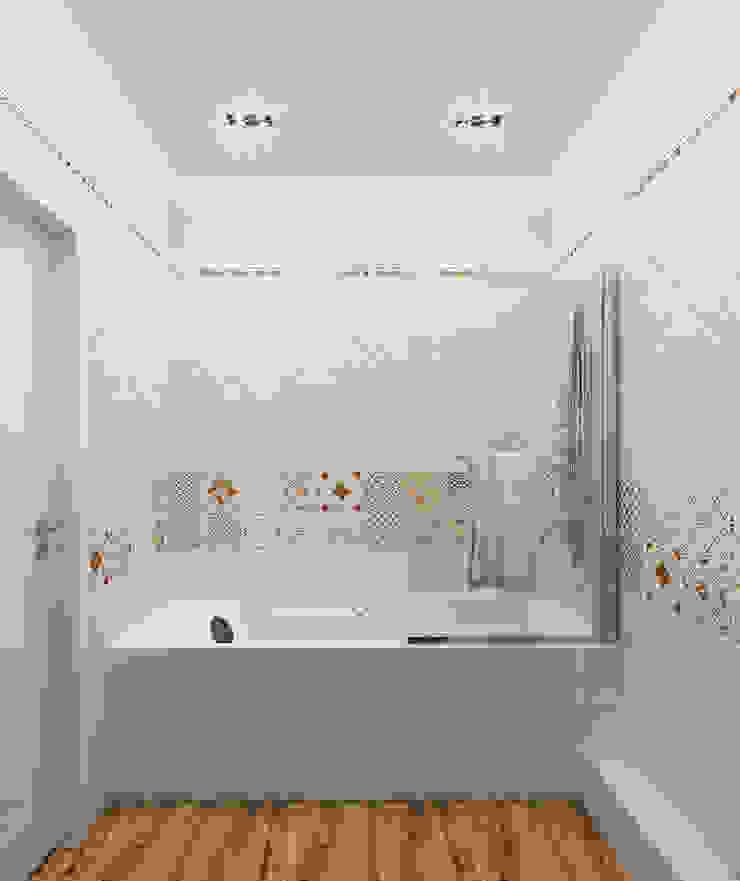 Квартира в элитном жилом комплексе <q>Парус</q> Ванная комната в стиле минимализм от Design Rules Минимализм