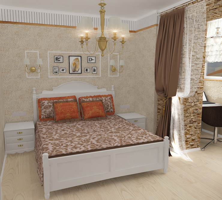 Country style bedroom by Design Rules Country