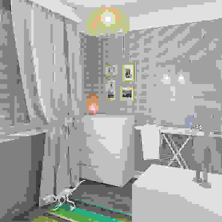 Двухкомнатная квартира в жилом комплексе <q>Онежский дворик</q> Детские комната в эклектичном стиле от Design Rules Эклектичный