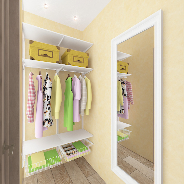 Closets por Design Rules Eclético