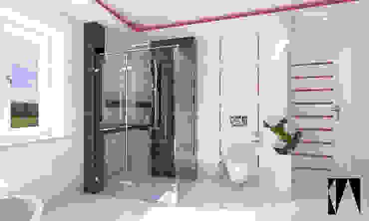 Łazienka Nowoczesna łazienka od Katarzyna Wnęk Nowoczesny Ceramika