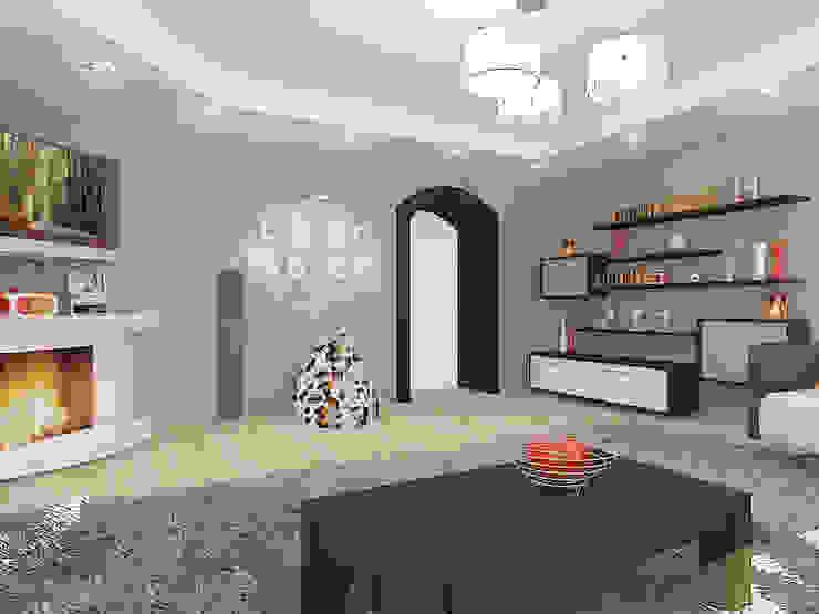 Salon original par Design Rules Éclectique